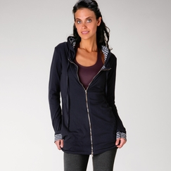 Organic Om Girl Refresh Anorak in Blueberry