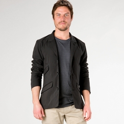 Eco Nau Riding Jacket in Caviar