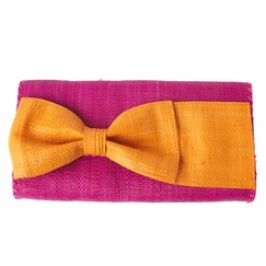 Mar Y Sol Eloise Clutch in Punch w/ Mango