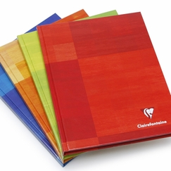 Clairefontaine Large Plain Hard Cover Notebook (6.75 x 8.75) in Plain (blank pages) [9840]
