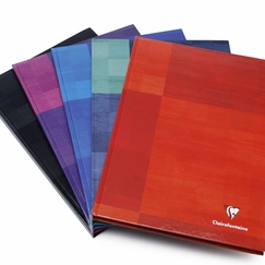 Clairefontaine A4 Ruled Hard Cover Notebook (8.25 x 11.75) in Ruled W/Margin (lined pages) [9045]