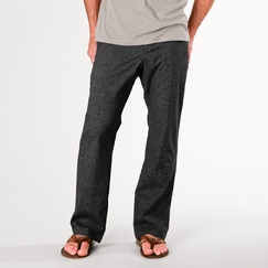 Hemp Prana Sutra Pant in Black