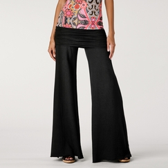 Om Girl Nomad Pant in Black