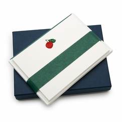 Jan Petr Obr Red Apple Boxed Flat Note Cards