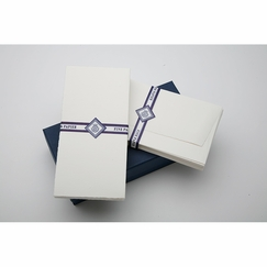 Jan Petr Obr DL Folded Card & Envelope set (4.3 x 8.6)