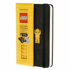 Moleskine Lego Pocket Ruled Notebook (3.5 x 5.5)