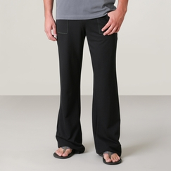 4-rth Eco Track Pant in Black