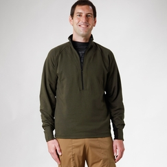 Organic Verve Avignon Fleece in Olive