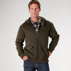 Prana Profile Hoody in Wren