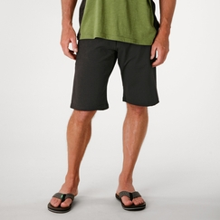 Organic Verve Shadow Short in Black