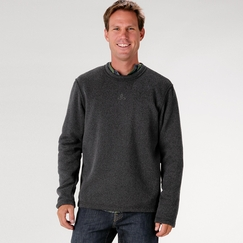 Prana Sherpa Crew in Charcoal
