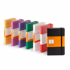 Moleskine Classic Pocket Ruled Notebook (3.5 x 5.5) in Black