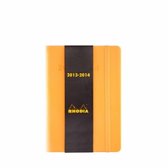 Rhodia 2013-14 Academic Pocket Weekly Planner (4 x 6) in Orange