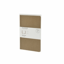 Moleskine Messages Large Note Card (4.5 x 6.75) in Kraft