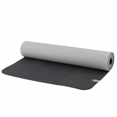 Prana Reversible ECO Sticky Mat in Black/Vapor