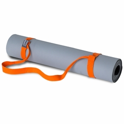 Prana Piggyback Yoga Mat Strap in Carrot