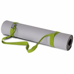 Prana Piggyback Yoga Mat Strap in Spinach