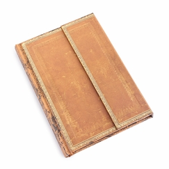 Paperblanks Handtooled Large Wrap Journal (5 x 7) in Ruled (lined pages)