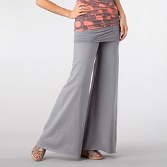 Om Girl Nomad Pant in Dolphin