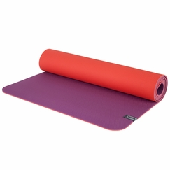 Prana Reversible ECO Sticky Mat in Berry Neon Orange