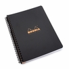 Rhodia Side Spiral Bound Polypro A5+ Meeting Book (6.5 x 8.25)