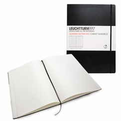 Leuchtturm1917 Master Hard Cover Squared Notebook (8.75 x 12.5)