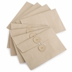 Midori Medium Kraft Envelope With String Closure (4.5 x 6.5) (8pk)