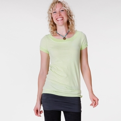 Om Girl Ballet Tee in Refreshing Lime