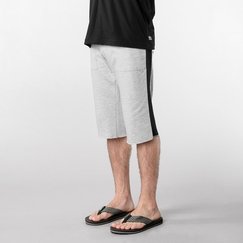 4-rth Eco Track Short in Heather Gray