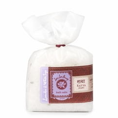 Lotus Love Beauty Bath Salts in Satya (Lavender & Sage)