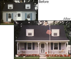 Before & After Porch Photo Collection