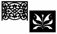 Product Listings - Fretwork Panels & Medallions