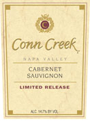 Conn Creek Limited Release Cabernet  Napa