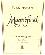 Franciscan Magnificat Napa Valley Red Wine 2007
