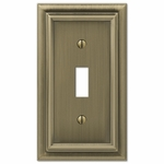 Continental Brushed Brass Cast