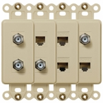 Convert Any Rocker to a Connection Wallplate