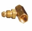T-92 Western / C-2580 Superior Coupler Tee CGA580 for Inert Gas Manifolds (1-Pack)