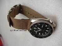 Maratac™ Zulu® Military Strap<br/>TWO PIECE for Spring Bars
