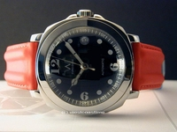 Bubble GIANT Sapphire Corum Style Watch all SWISS