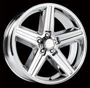 "Chevy Iroc Z Style Chrome Replica Wheels Rims 5x4.75"" for Chevy Rwd Cars"
