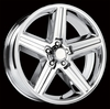 "Iroc Z Style Chrome Replica Wheels Rims 5x4.75"" for Chevy Impala 1958-1970"
