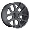 "20x9"" SRT10 Replica Matte Black Wheels Rims 5x5.5"" for Dodge Ram 1500 2002-2011"