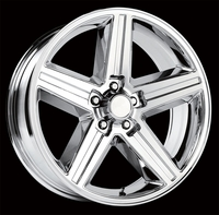 "18x8"" Chrome Chevy Iroc Z Replica Wheels Rims 5x4.75"" for Camaro 1967-1992"