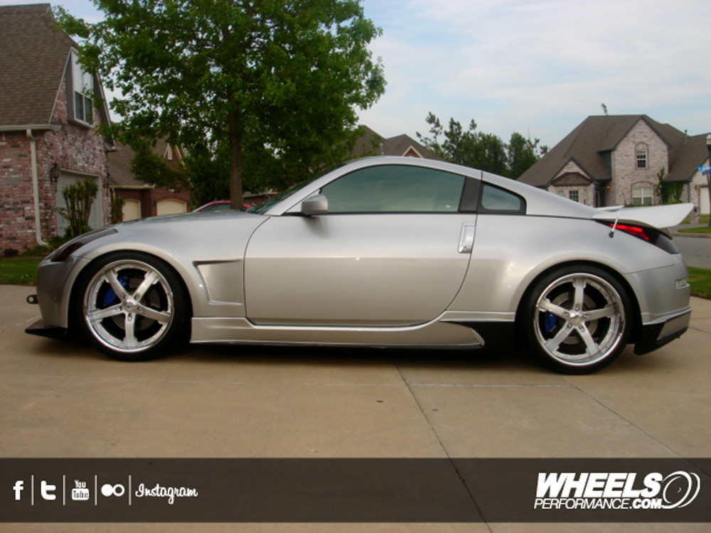 Our Client S Nissan 350z With 20 Quot Cor Concord Wheels