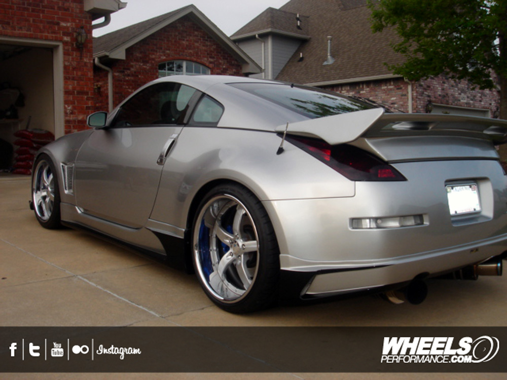 """Nissan Of Concord >> OUR CLIENT'S NISSAN 350Z WITH 20"""" COR CONCORD WHEELS"""