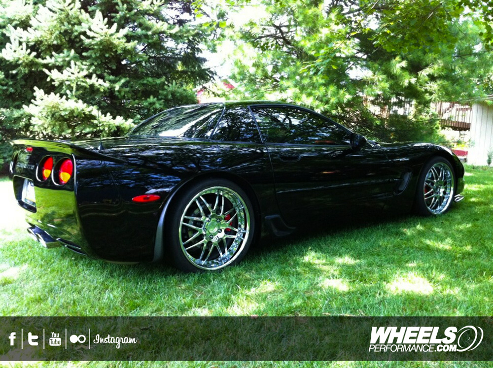 "C7 Z06 Wheels On C5 >> OUR CLIENT'S CHEVROLET CORVETTE C5 Z06 WITH 19/20"" MODULAR CONCEPT WHEELS"