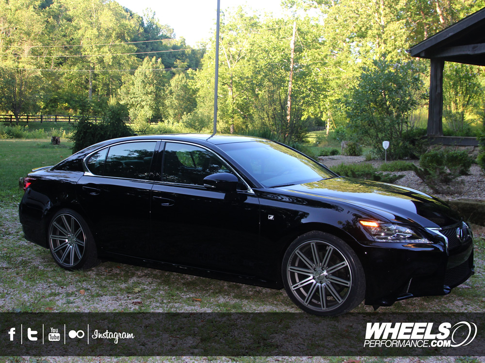 Our Client S Lexus Gs350 With 20 Quot Vossen Cv4 Wheels