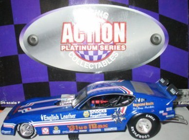 1979 BLUE MAX 1/24TH SCALE ACTION PERFORMANCE PLYMOUTH AAROW FUNNY CAR ...