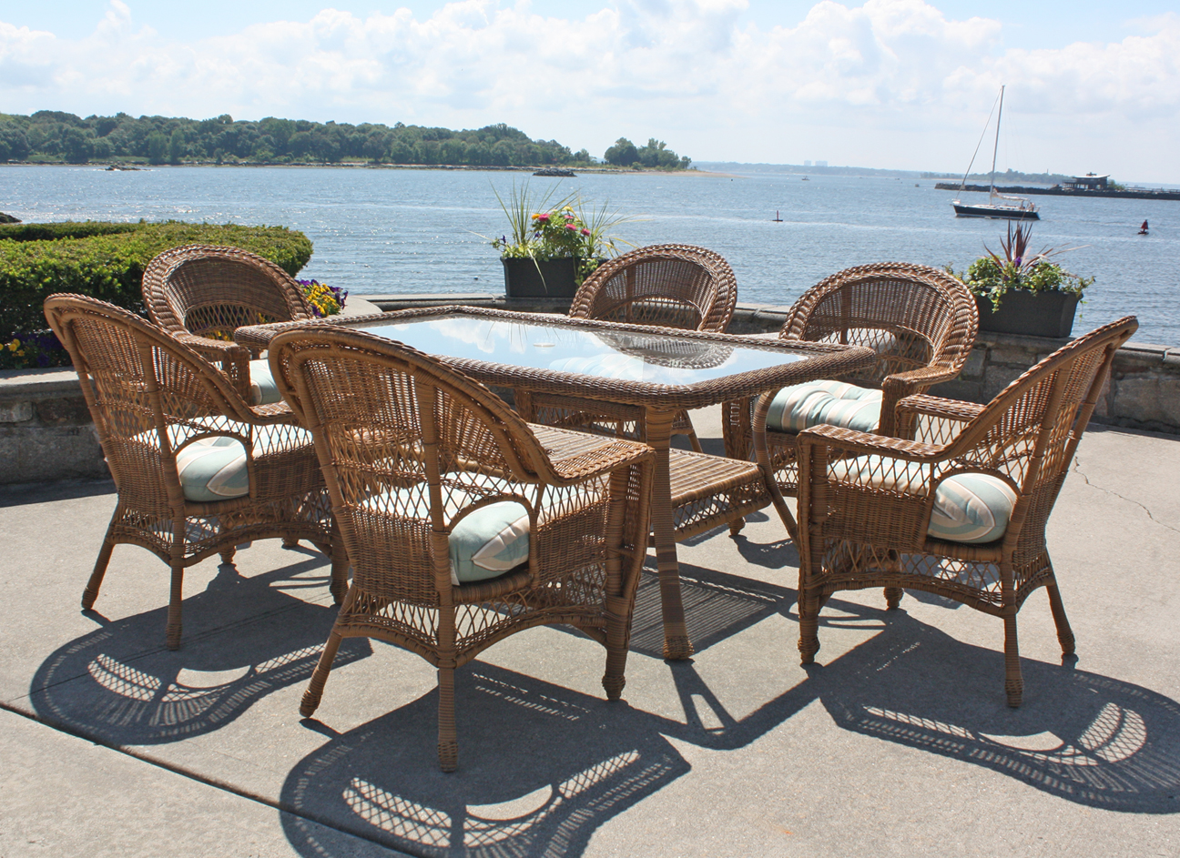 Outdoor wicker dining chairs - Outdoor Wicker Dining Chairs 1