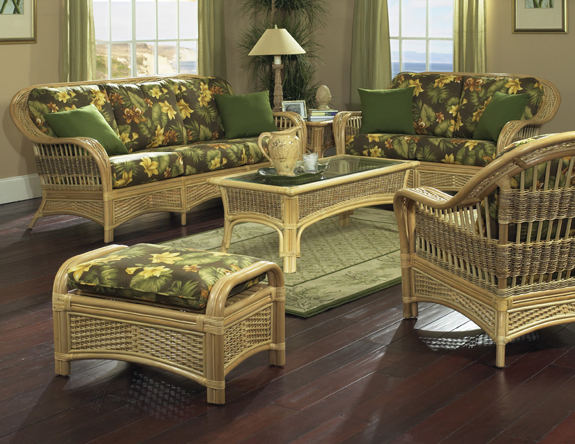 sunroom wicker furniture. Natural Rattan Furniture | Tropical Breeze Sunroom Wicker N